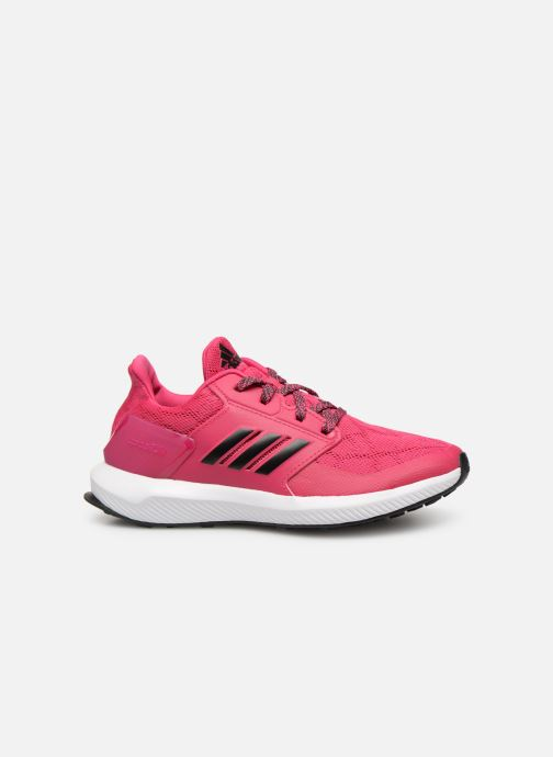 Baskets adidas performance Rapidarun K Rose vue derrière