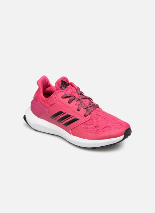 Baskets adidas performance Rapidarun K Rose vue détail/paire