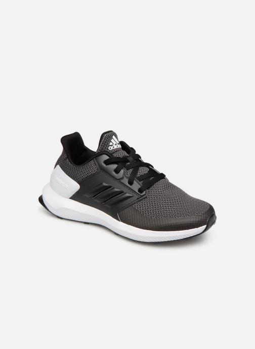 Baskets adidas performance Rapidarun K Noir vue détail/paire