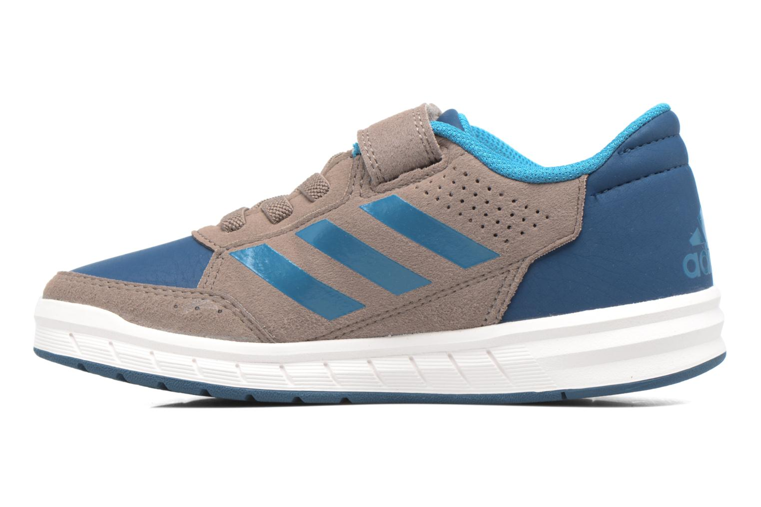 Trainers Adidas Performance Altasport El K Brown front view