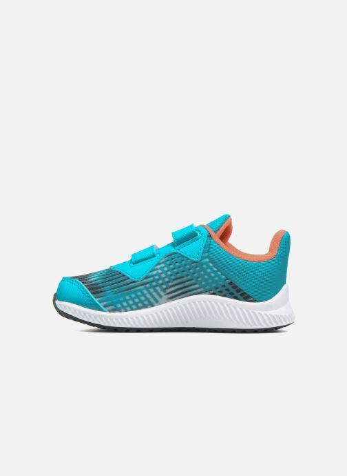 Baskets adidas performance Fortarun Cf I Bleu vue face