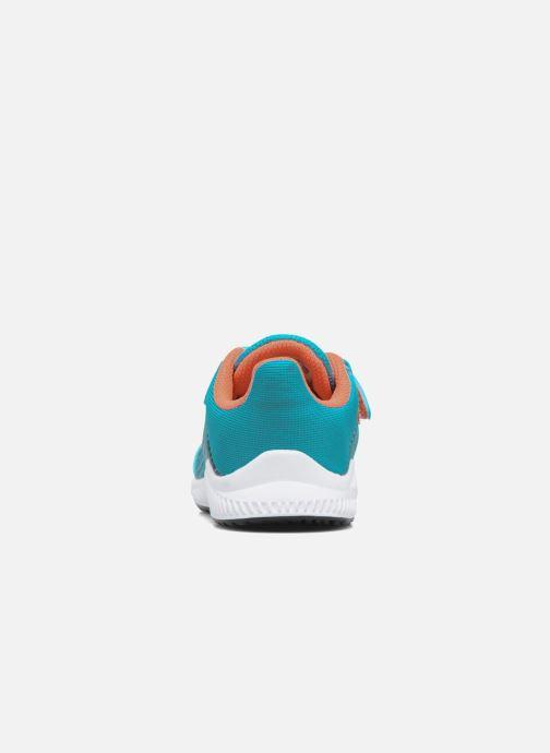 Baskets adidas performance Fortarun Cf I Bleu vue droite