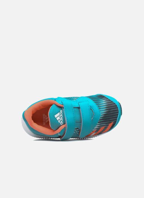 Sneakers adidas performance Fortarun Cf I Blå se fra venstre
