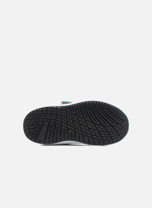 Baskets adidas performance Fortarun Cf I Bleu vue haut