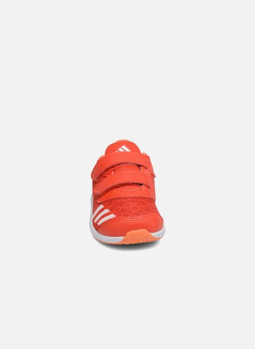 Baskets adidas performance Fortarun Cf I Orange vue portées chaussures