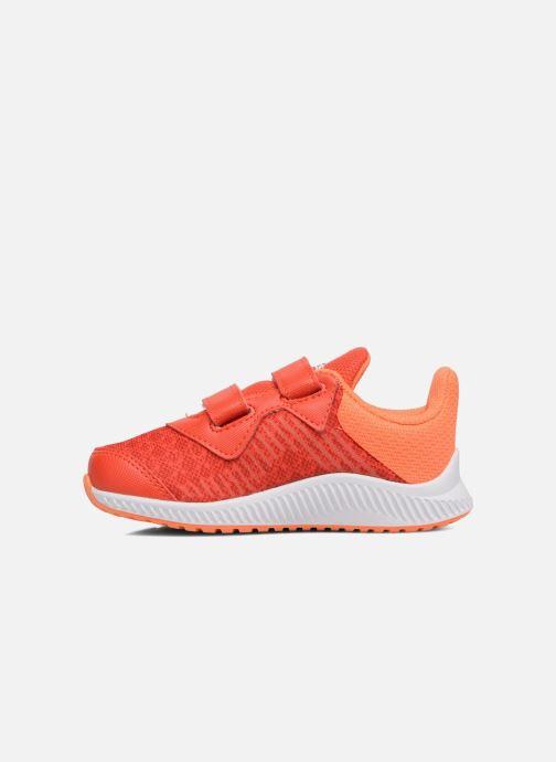 Baskets adidas performance Fortarun Cf I Orange vue face