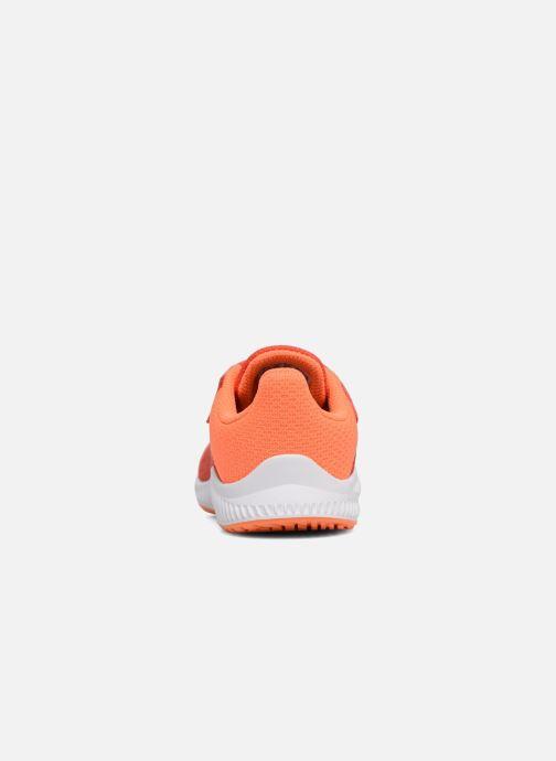 Baskets adidas performance Fortarun Cf I Orange vue droite