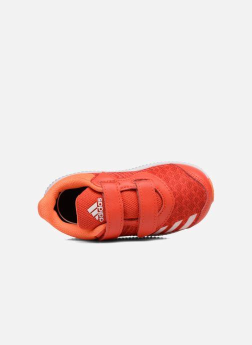 Baskets adidas performance Fortarun Cf I Orange vue gauche