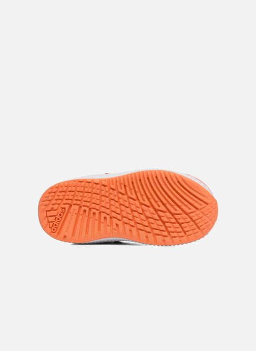 Baskets adidas performance Fortarun Cf I Orange vue haut