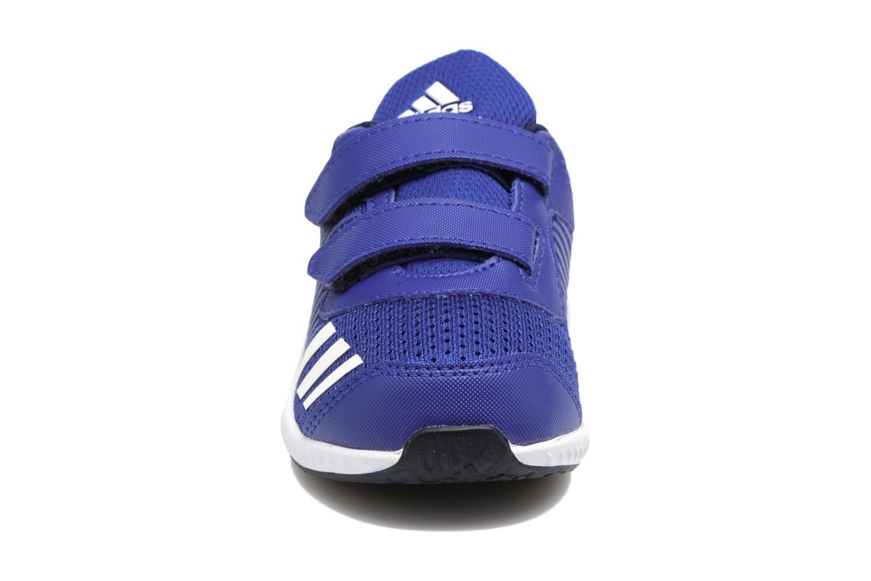Baskets Adidas Performance Fortarun Cf I Bleu vue portées chaussures