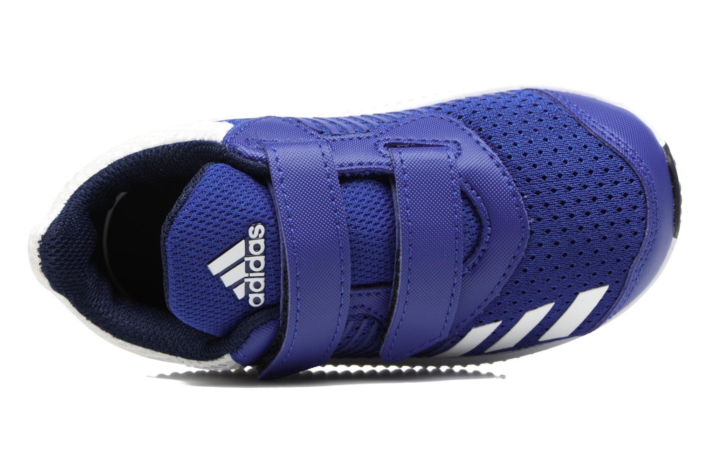 Baskets Adidas Performance Fortarun Cf I Bleu vue gauche