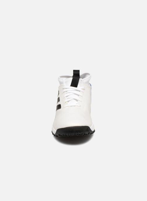Sportschuhe Adidas Performance Rapidaturf Messi K weiß schuhe getragen