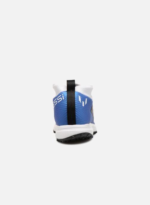 Chaussures de sport adidas performance Rapidaturf Messi K Blanc vue droite