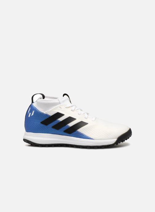 Sportschuhe Adidas Performance Rapidaturf Messi K weiß ansicht von hinten