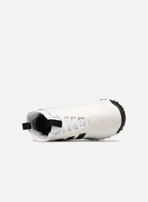 Chaussures de sport adidas performance Rapidaturf Messi K Blanc vue gauche