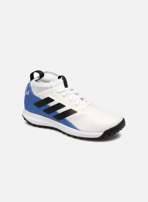 Chaussures de sport adidas performance Rapidaturf Messi K Blanc vue détail/paire