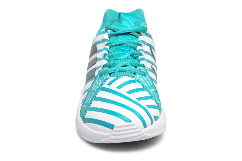 Sportschuhe Adidas Performance Rapidaturf Messi K blau schuhe getragen