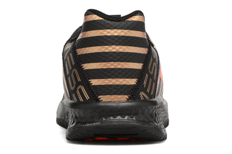 Chaussures de sport Adidas Performance Rapidaturf Messi K Noir vue droite