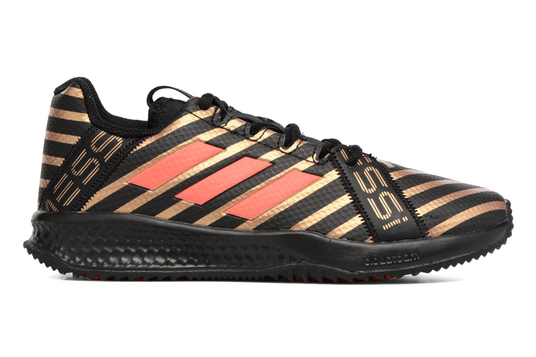 Chaussures de sport Adidas Performance Rapidaturf Messi K Noir vue derrière