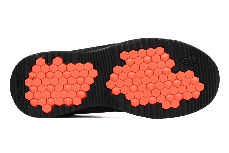 Chaussures de sport Adidas Performance Rapidaturf Messi K Noir vue haut