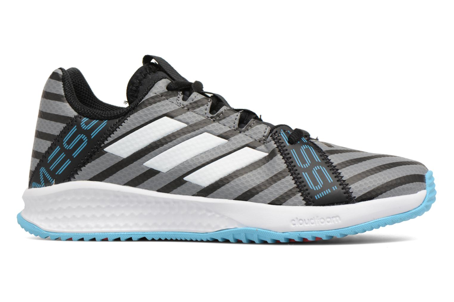 Sport shoes Adidas Performance Rapidaturf Messi K Grey back view