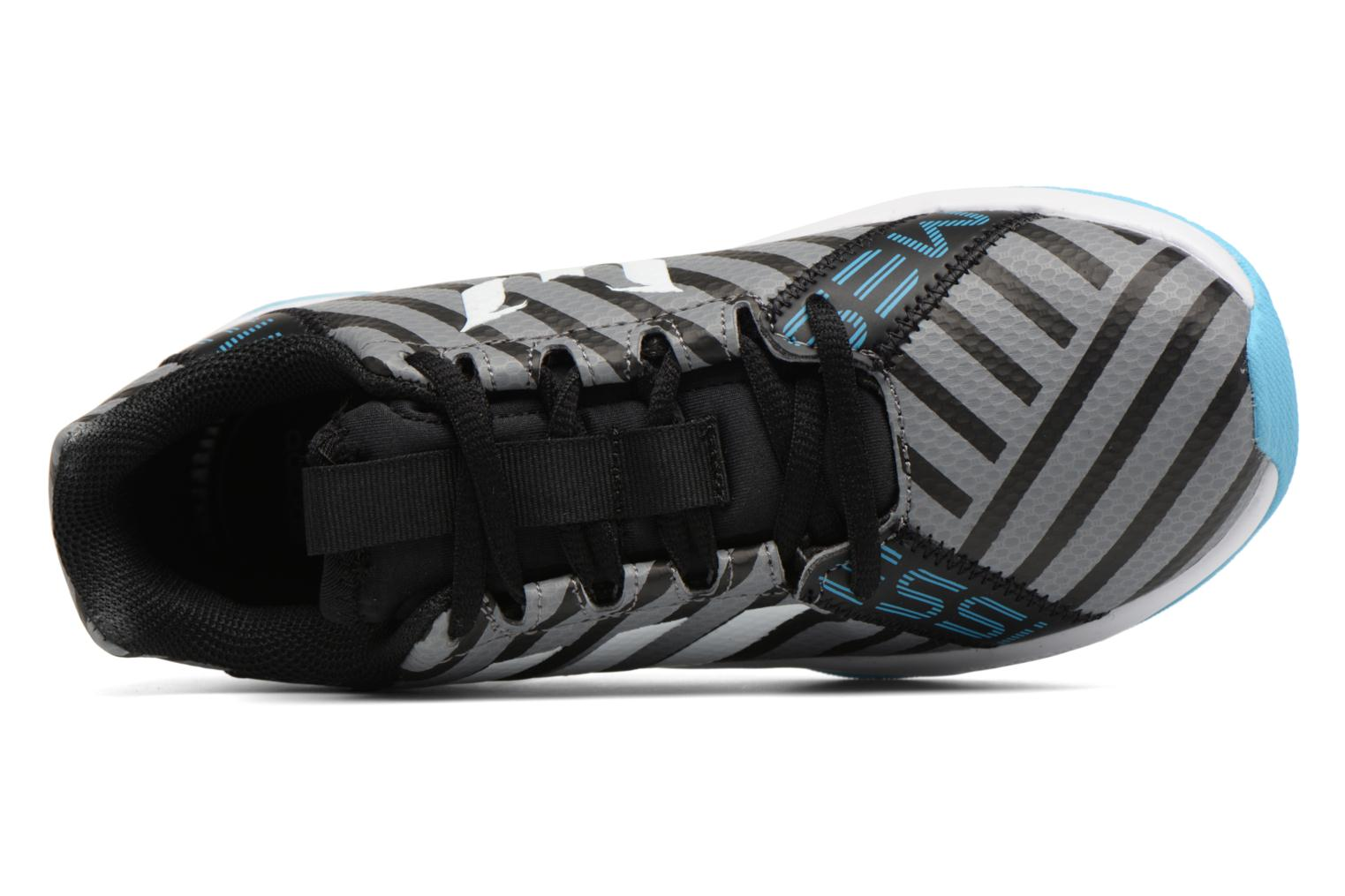 Sport shoes Adidas Performance Rapidaturf Messi K Grey view from the left
