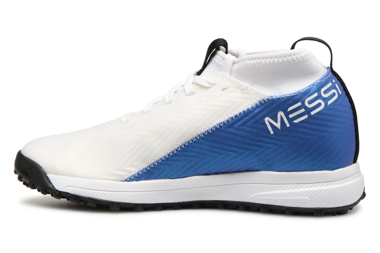 Sportschuhe Adidas Performance Rapidaturf Messi K weiß ansicht von vorne