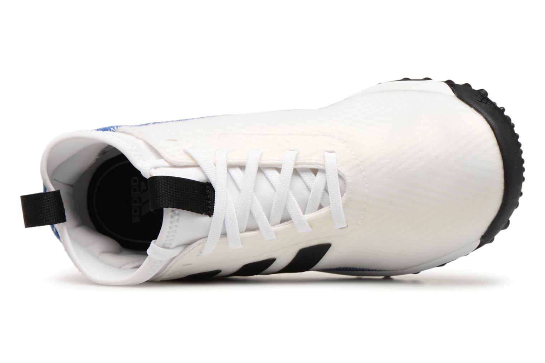 Sportschuhe Adidas Performance Rapidaturf Messi K weiß ansicht von links