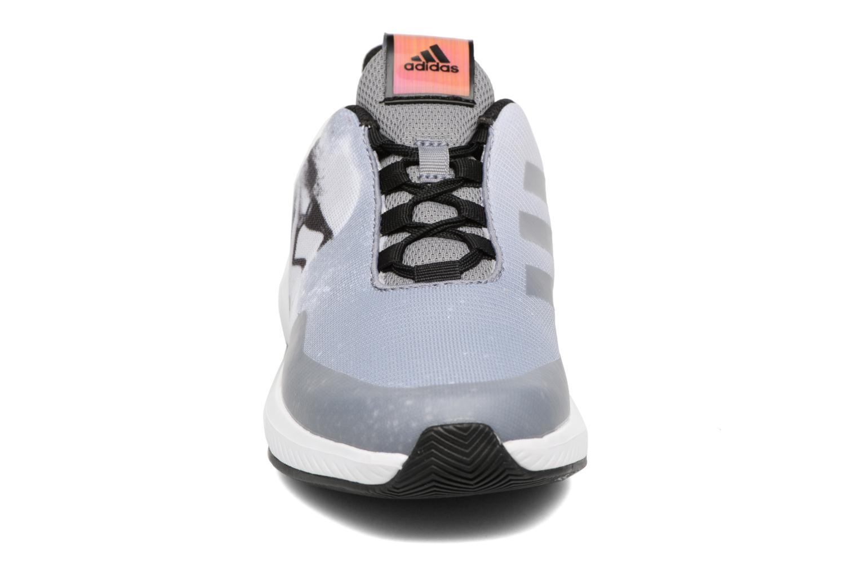 Baskets Adidas Performance Star Wars K Gris vue portées chaussures