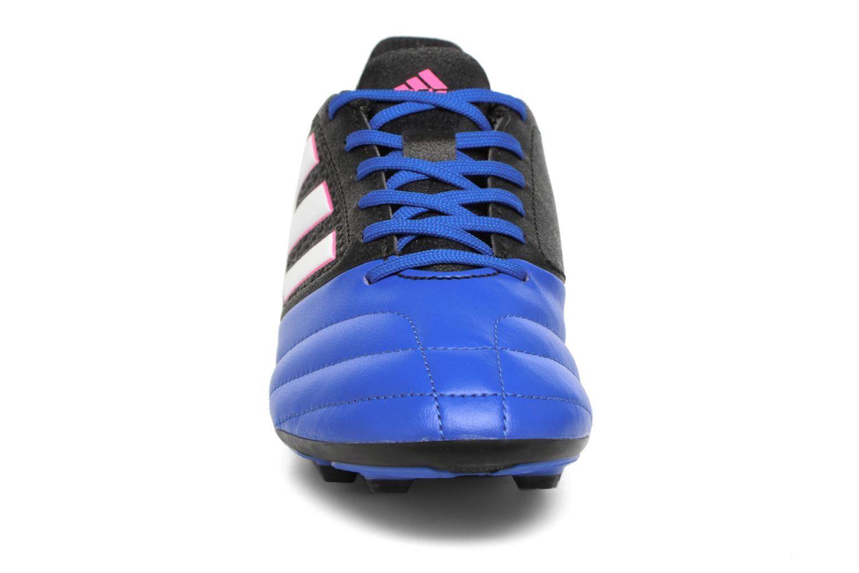 Scarpe sportive Adidas Performance Ace 17.4 Fxg J Nero modello indossato