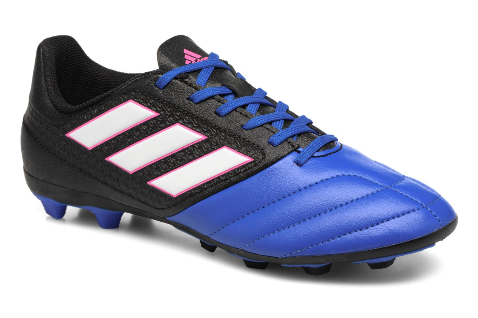 Sport shoes Adidas Performance Ace 17.4 Fxg J Black detailed view/ Pair view