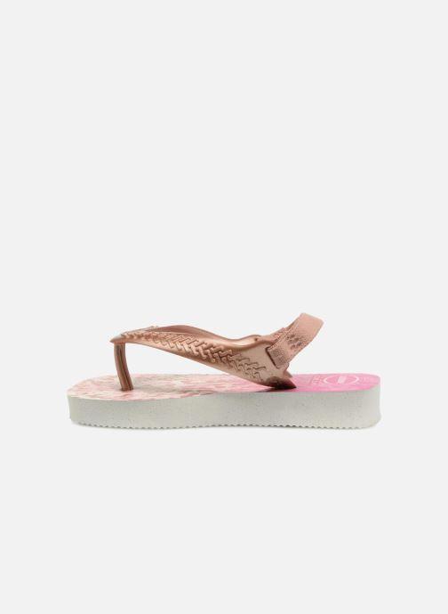 Sandales et nu-pieds Havaianas Baby Chic 2 Rose vue face