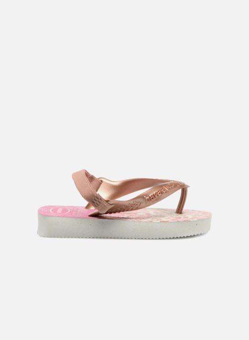 Sandales et nu-pieds Havaianas Baby Chic 2 Rose vue derrière