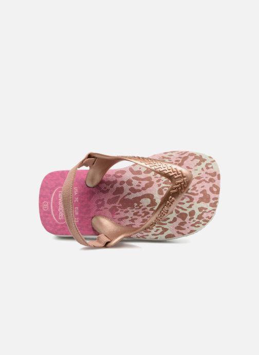 Sandales et nu-pieds Havaianas Baby Chic 2 Rose vue gauche