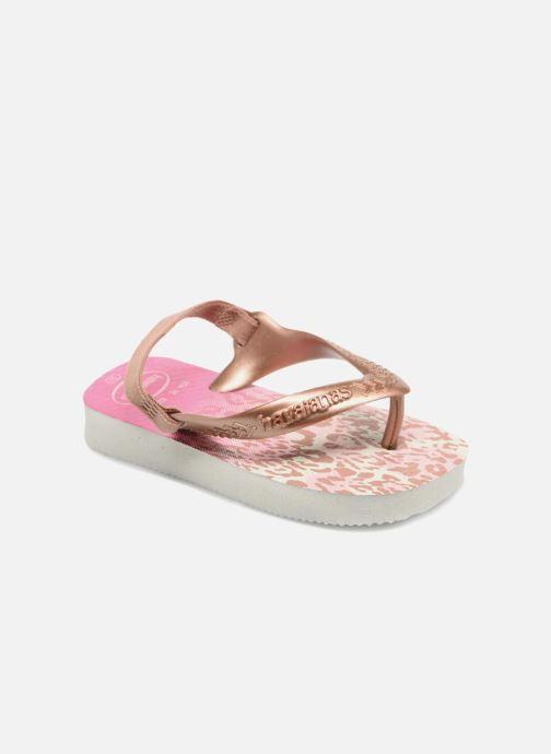 Sandales et nu-pieds Havaianas Baby Chic 2 Rose vue détail/paire