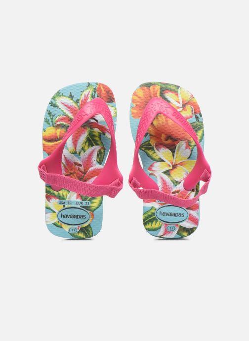 Sandales et nu-pieds Havaianas Baby Chic 2 Bleu vue portées chaussures