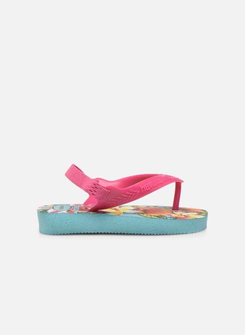 Sandales et nu-pieds Havaianas Baby Chic 2 Bleu vue derrière