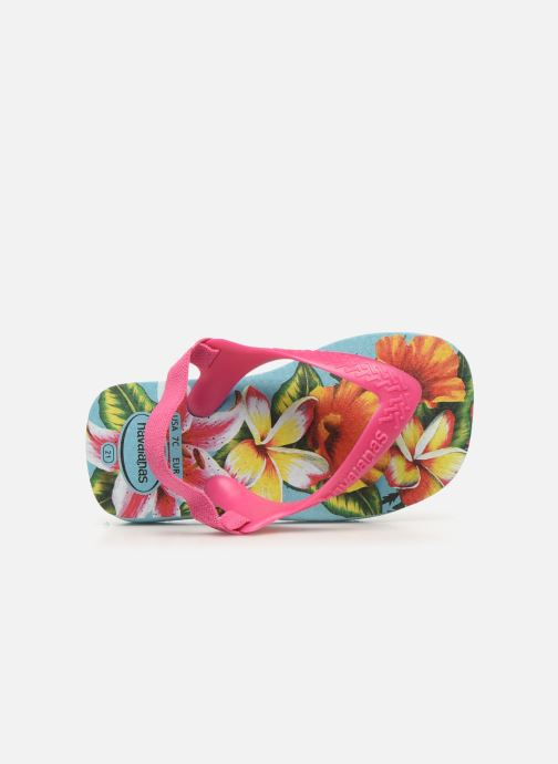 Sandales et nu-pieds Havaianas Baby Chic 2 Bleu vue gauche