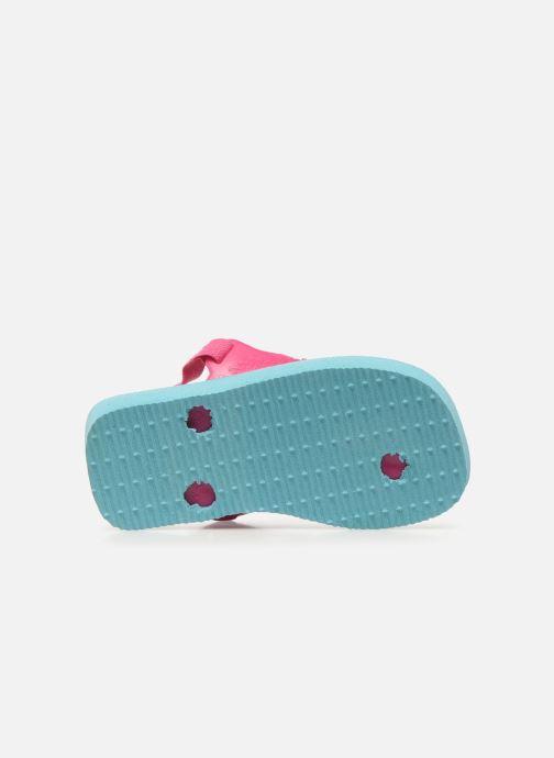 Sandales et nu-pieds Havaianas Baby Chic 2 Bleu vue haut