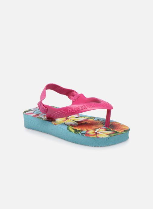 Sandales et nu-pieds Havaianas Baby Chic 2 Bleu vue détail/paire
