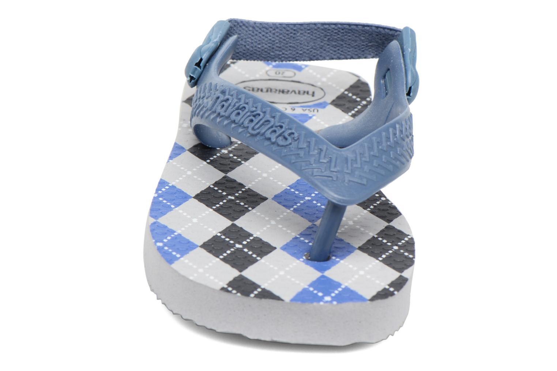 Sandales et nu-pieds Havaianas Baby Chic 2 Gris vue portées chaussures
