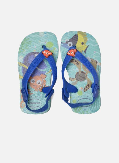Sandalen Havaianas Baby Disney Cuties Blauw 3/4'