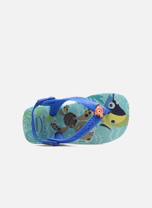 Sandalen Havaianas Baby Disney Cuties Blauw links
