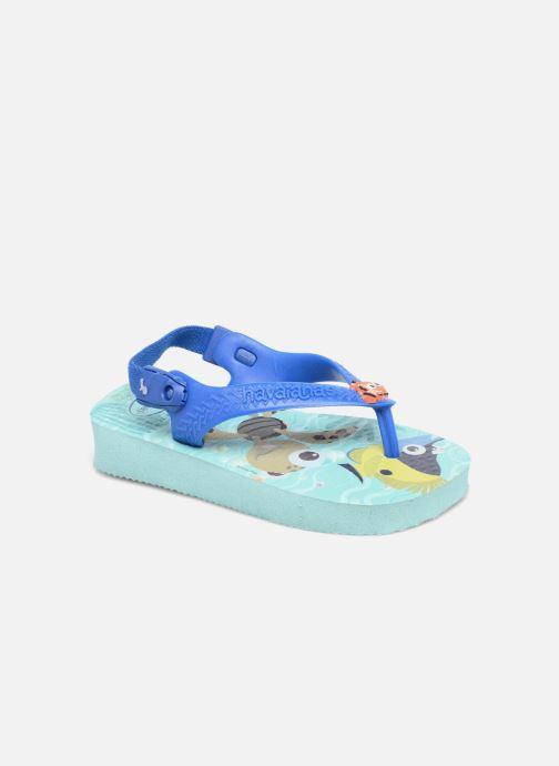 Sandalen Havaianas Baby Disney Cuties Blauw detail
