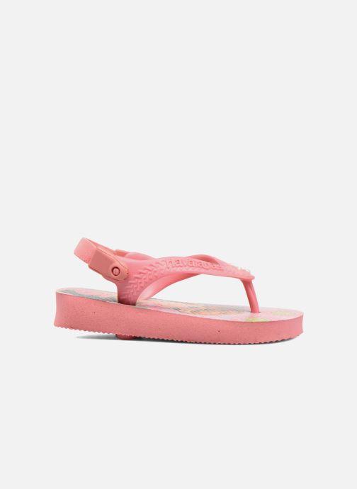 Sandales et nu-pieds Havaianas Baby Frozen Rose vue derrière