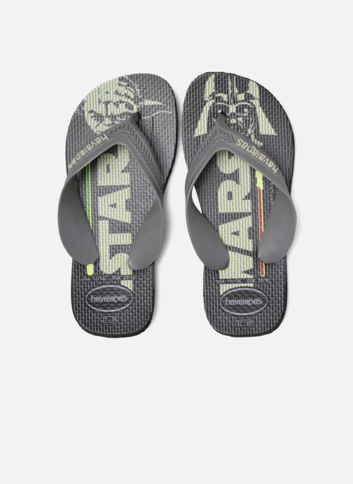 Tongs Havaianas Kids Max Star Wars Noir vue 3/4