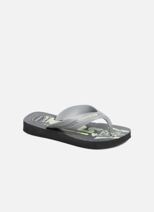 Tongs Havaianas Kids Max Star Wars Noir vue détail/paire