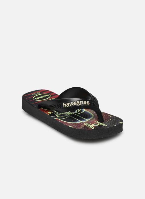 Tongs Havaianas Kids Max Star Wars Noir vue portées chaussures