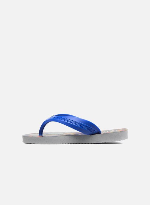 Tongs Havaianas Kids Max Herois Gris vue face
