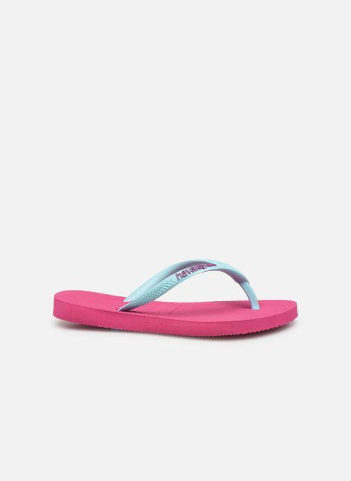 Slippers Havaianas Kids Slim Logo Roze achterkant